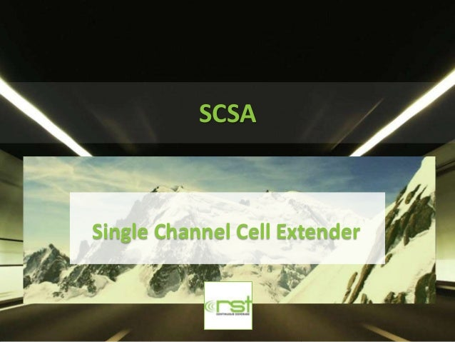 SCSASingle Channel Cell Extender