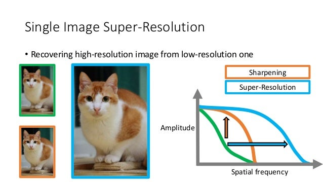 single image super resolution Image super-resolution via sparse representation  abstract—this paper presents a new approach to single-image  generic image super-resolution, specific image .