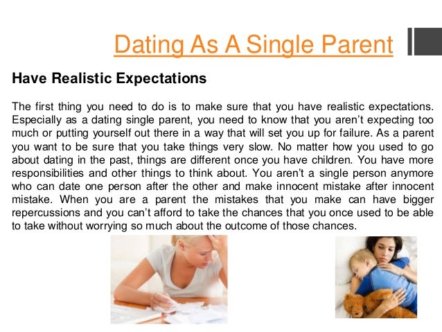Online dating single mom