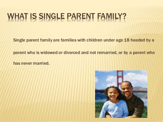 single parenting facts