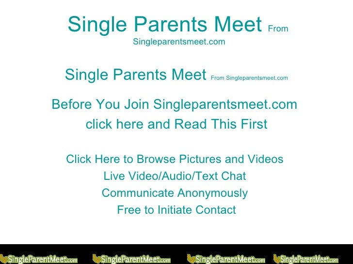 is single parent meet free