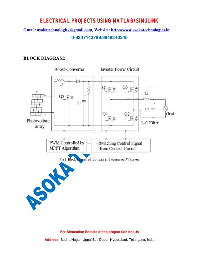 Thesis on grid connected photovoltaic system