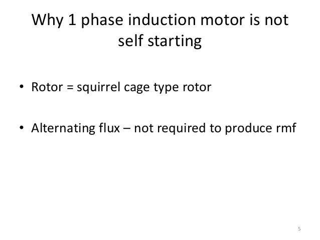 Three Phase Induction Motor Is Self Starting 28 Images