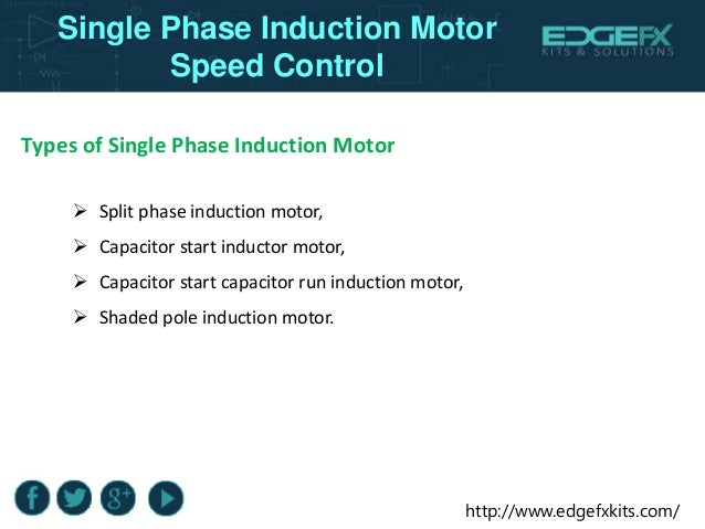 Types Of Single Phase Induction 28 Images Types Of