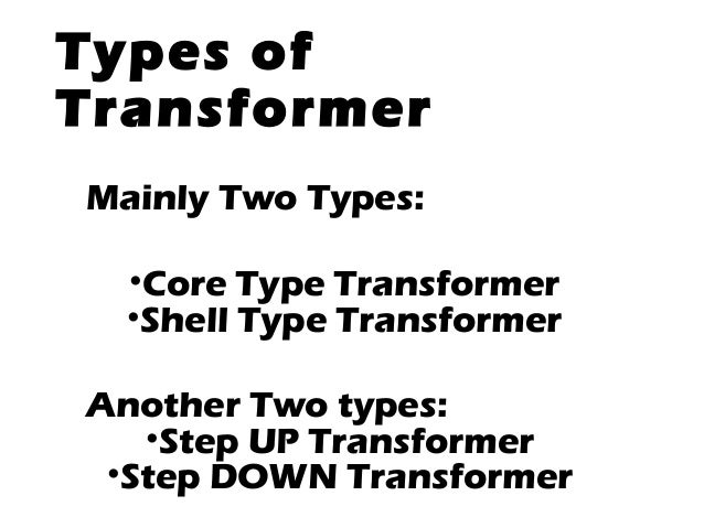 single phase tansformer