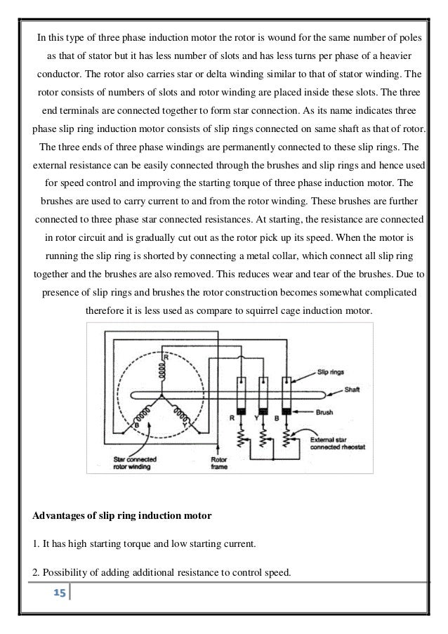 Single phasing of three phase induction motor – Rotor And Stator Single Phase Motor Wiring Diagrams