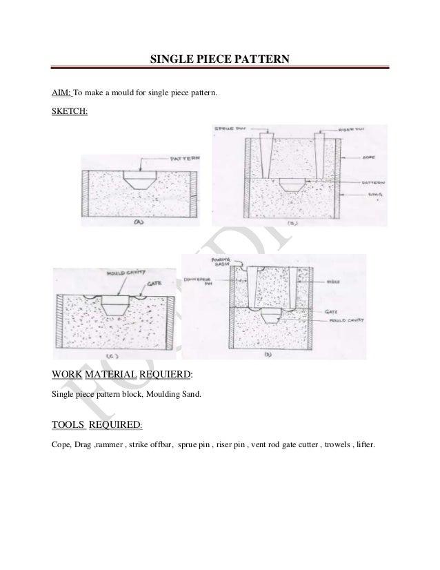 single piece pattern rh slideshare net