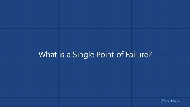 "SPOF - Single ""Person"" of Failure Slide 3"