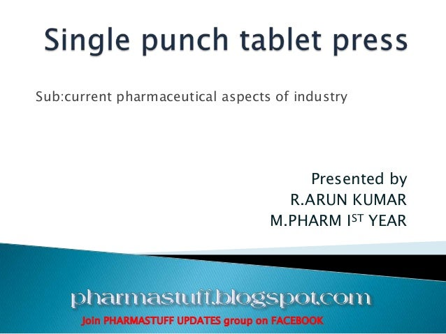 Sub:current pharmaceutical aspects of industry Presented by R.ARUN KUMAR M.PHARM IST YEAR Join PHARMASTUFF UPDATES group o...
