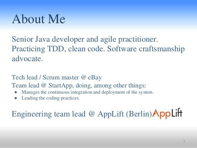 Single Responsibility Principle @ Clean Code Alliance Meetup Slide 2