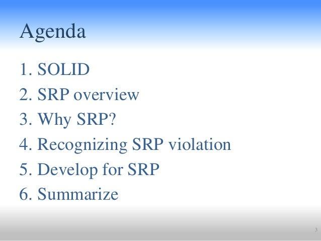 Single Responsibility Principle @ Clean Code Alliance Meetup Slide 3