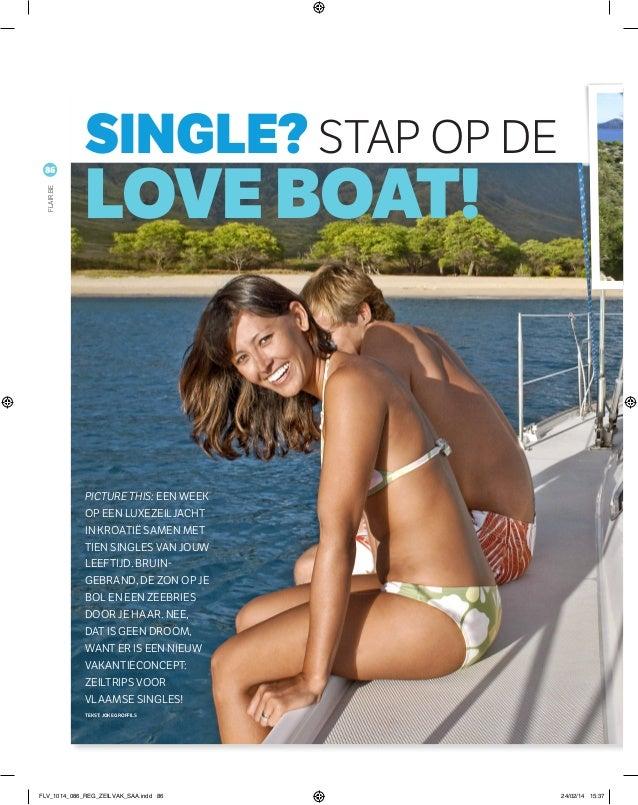 Picture this: een week op een luxezeiljacht in Kroatië samen met tien singles van jouw leeftijd. Bruin gebrand, de zon op...