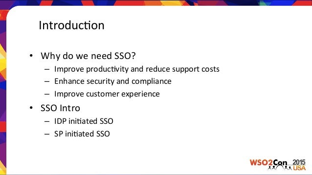 WSO2Con USA 2015: Single Sign-on Solutions for Salesforce
