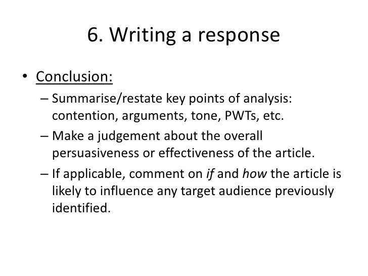 conclusion of language analysis essay Writing an academic essay means fashioning a coherent set of ideas into an argument because essays are essentially linear—they offer one idea at a time—they must present their ideas in the order that makes most sense to a reader.
