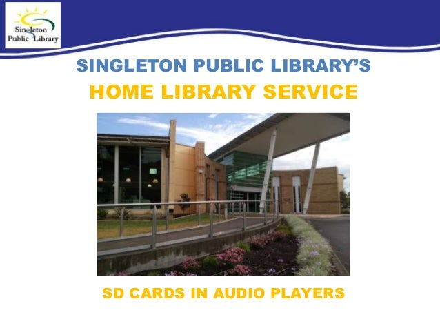 Singleton Public Library's Home Library Service - photo#34