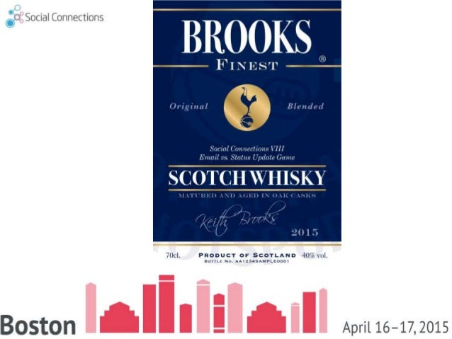 2 SOCIALCONNECTIONS8April16-17,2015Boston We LOVE our Sponsors, Go Talk to Them AFTER my Session