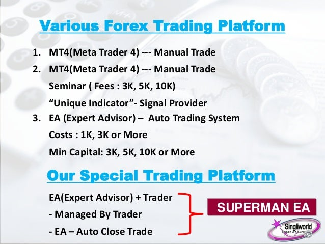 Forex superman trading system free