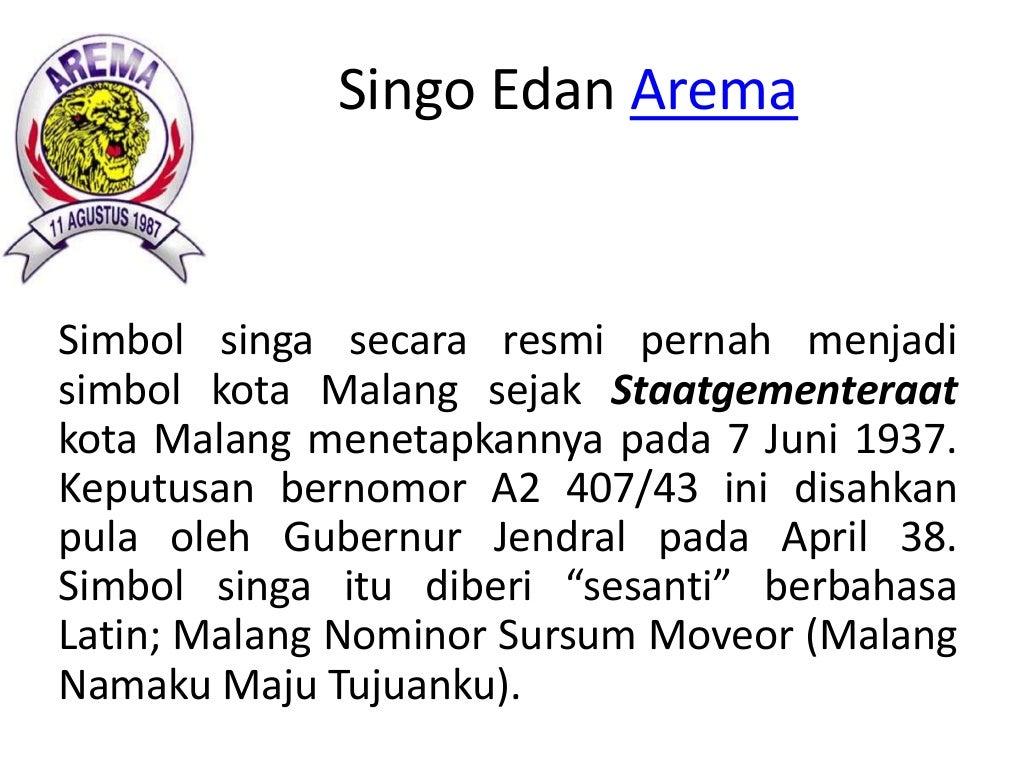Singo Edan Arema