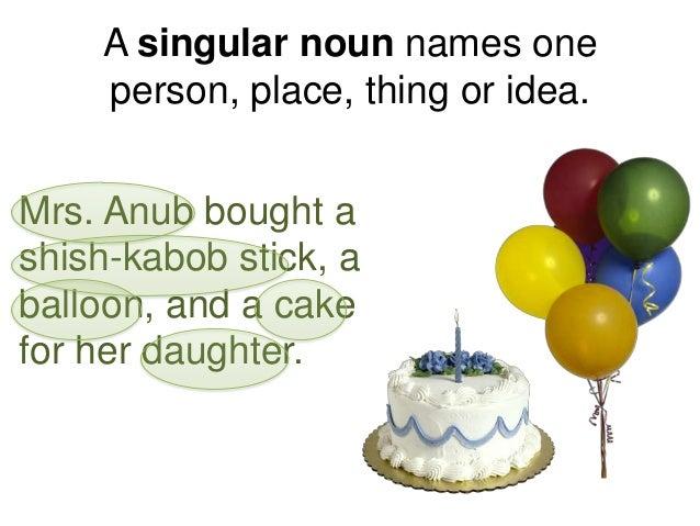 Singular and Plural nouns- Unit 2