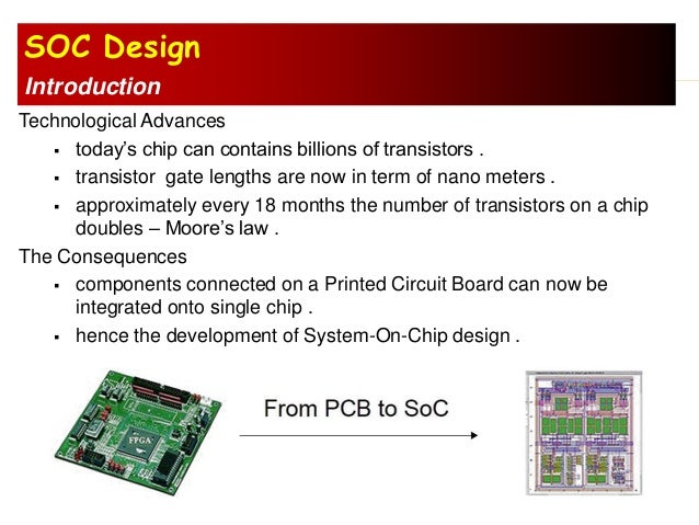 soc design for dsp applications