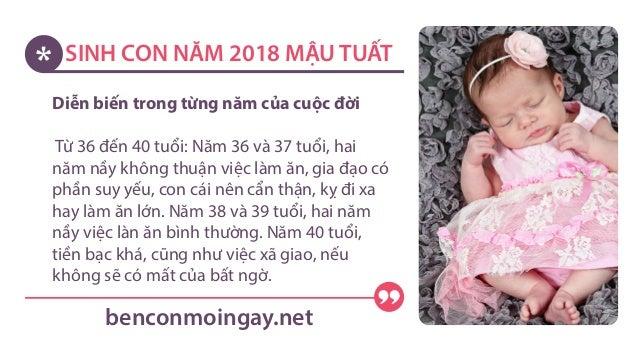 SINH CON NĂM 2018 MẬU TUẤT benconmoingay.net; 19.