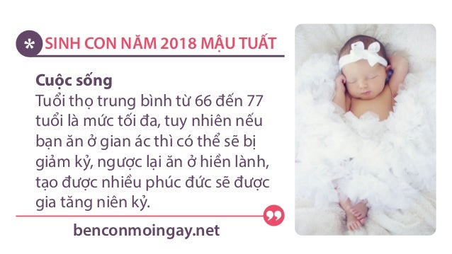 SINH CON NĂM 2018 MẬU TUẤT benconmoingay.net; 4.