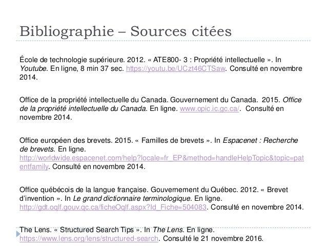 Ts s 39 initier la recherche de brevets - Office quebecois de la langue francaise ...