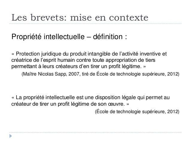 Ts s 39 initier la recherche de brevets - Office de la propriete intellectuelle ...