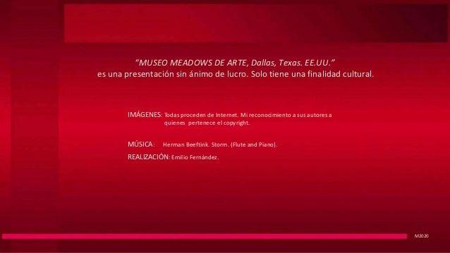 Museo Meadows de Arte, Dallas. Texas.