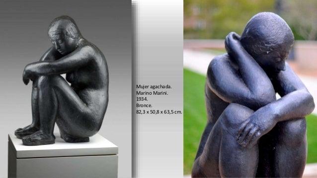 Figura reclinable de tres piezas, nº 1. Henry Moore. 1961-1962. Bronce.
