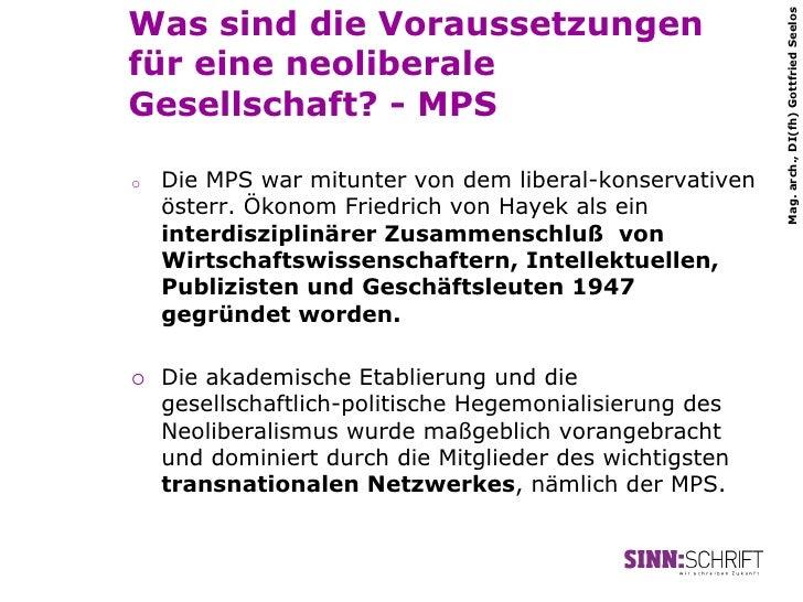 Was sind die Voraussetzungen                                                           Mag. arch., DI(fh) Gottfried Seelos...