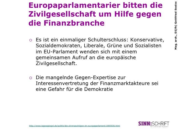 Europaparlamentarier bitten die                                                                                       Mag....