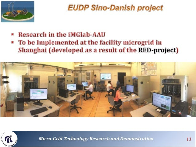 Sino Danish Microgrid Tech Research Amp Demonstration