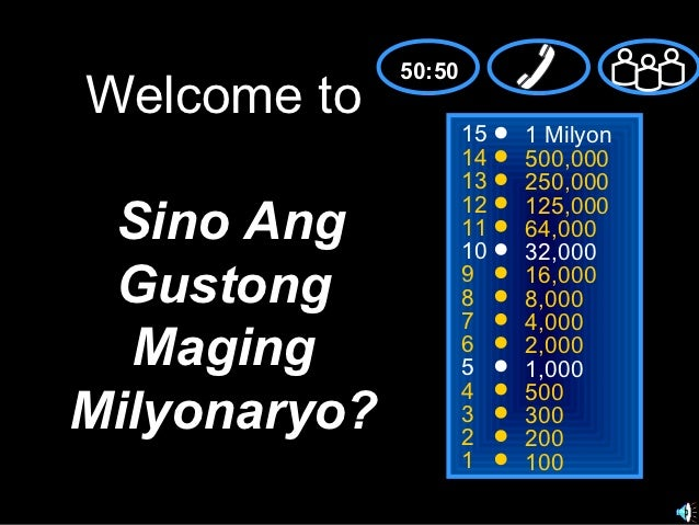 50:50Welcome to                      15   1 Milyon                      14   500,000                      13   250,000    ...