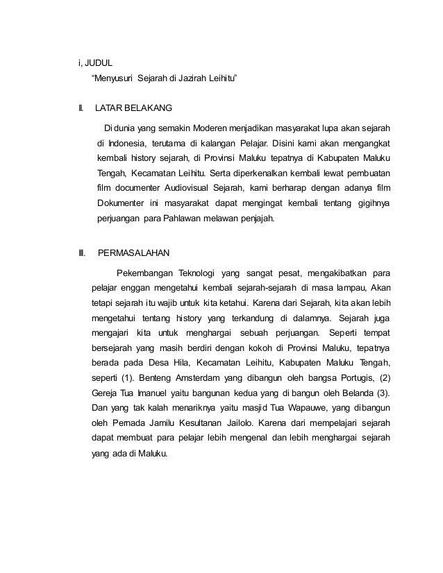 Skripsi Film Dokumenter Pdf Pejuang Skripsi