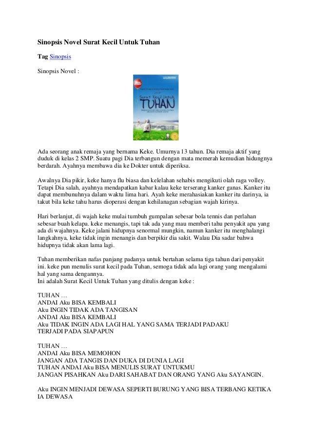 Contoh Resume Buku Novel Natal Solo