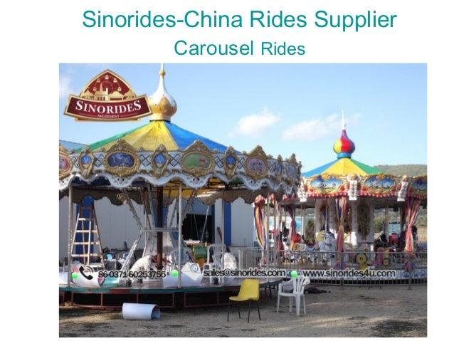 Sinorides-China Rides Supplier Carousel Rides
