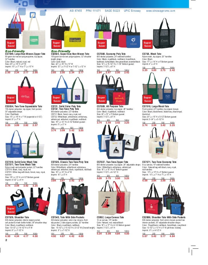 Promotional Bag Ideas by Sinoway Slide 2
