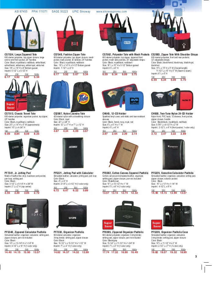 Promotional Bag Ideas by Sinoway Slide 3