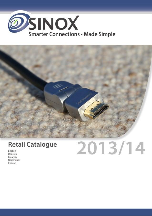 Smarter Connections - Made Simple Retail Catalogue 2013/14English Deutsch Français Nederlands Italiano