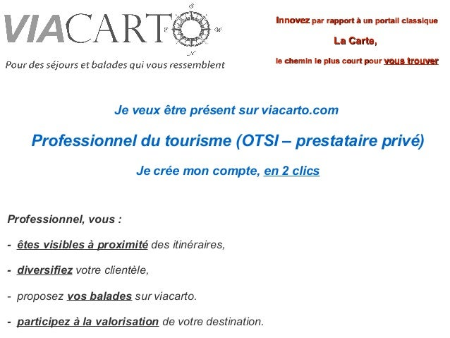 Innovez par rapport à un portail classique                                                                     La Carte,  ...