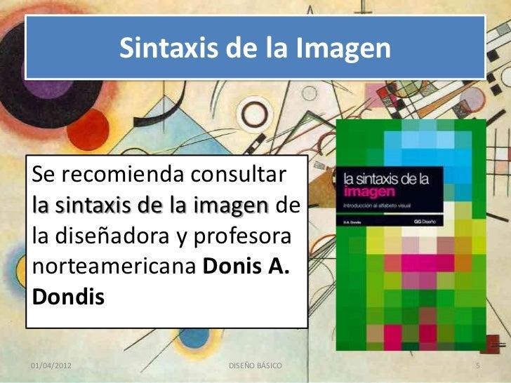 SINTAXIS DE LA IMAGEN D.A DONDIS EPUB