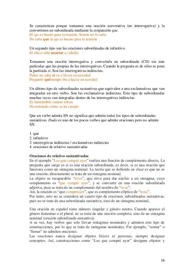 Sintaxis del español