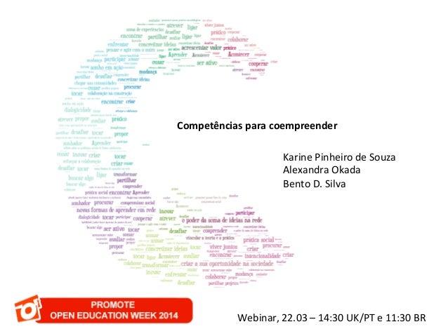 C   Competências  para  coempreender        Karine  Pinheiro  de  Souza     Alexandra  Okada   ...