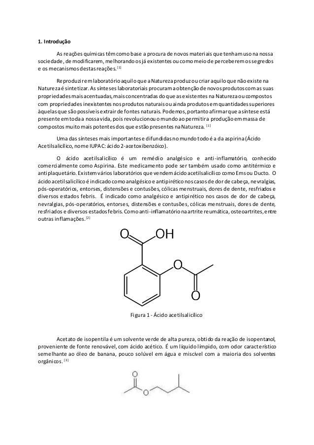 1. Introdução As reaçõesquímicastêmcomobase a procura de novosmateriaisque tenhamusonanossa sociedade,de modificarem,melho...