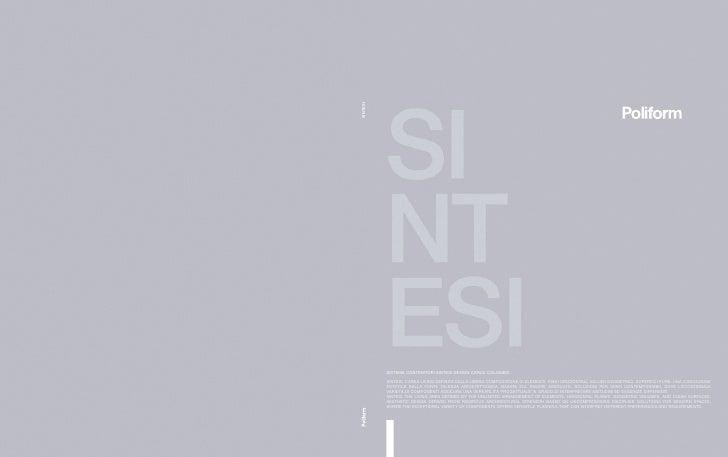 SINTESI            SISTEMA CONTENITORI SINTESI DESIGN CARLO COLOMBO.            SINTESI, L'AREA LIVING DEFINITA DALLA LIBE...