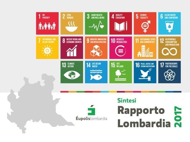 Rapporto Lombardia 2017 Sintesi