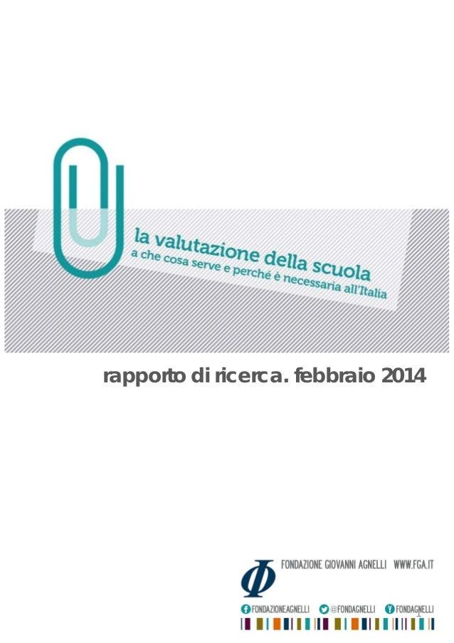rapporto di ricerca. febbraio 2014 1