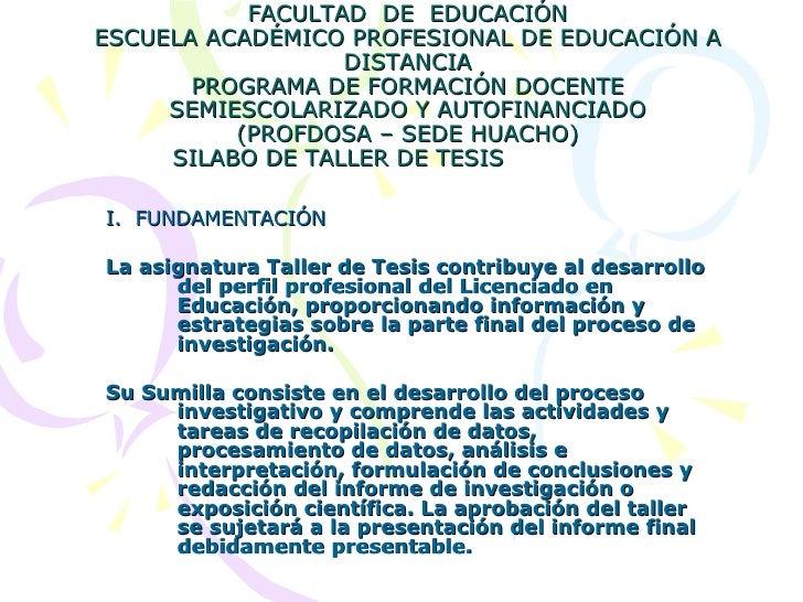 UNIVERSIDAD NACIONAL JOSÉ FAUSTINO SÁNCHEZ CARRIÓN DE HUACHO FACULTAD  DE  EDUCACIÓN ESCUELA ACADÉMICO PROFESIONAL DE EDUC...