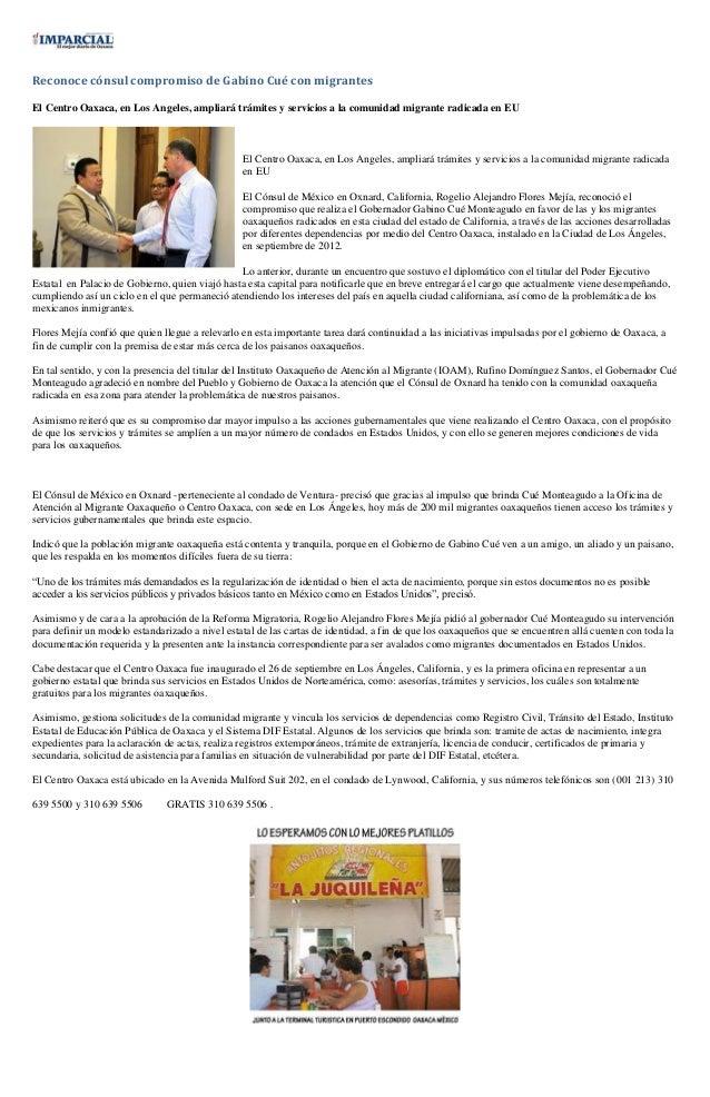 Sintesis informativa 29 04 2013